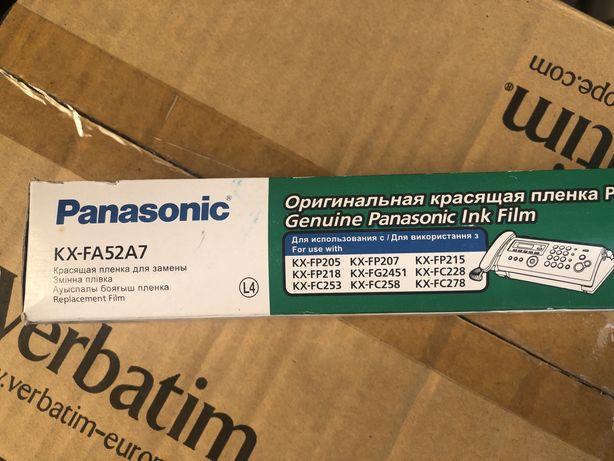 Kx-fa52a7 пленка Panasonic