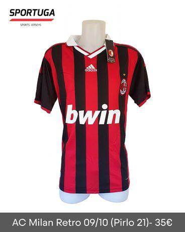 Equipamento do AC Milan 09/10 - Oficial