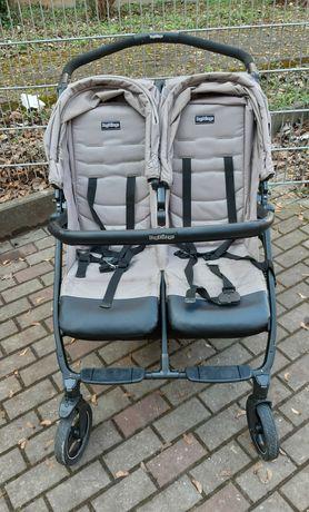 Прогулочная коляска для двойни или погодок Peg-Perego Book For Two.