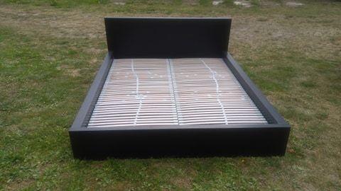 Łóżko Malm duże 177/210 rama+ stelaż