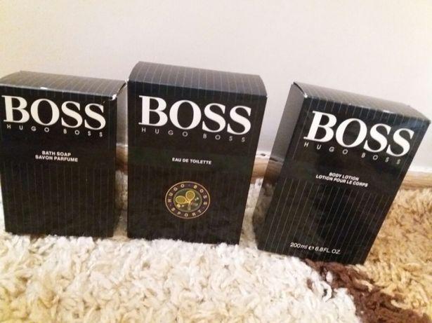 Zestaw perfum Hugo Boss Edt , Body Lation, Bath Soap