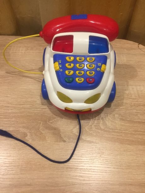 "Телефон ""Полицейская машинка"", машинка - каталка Chicco"