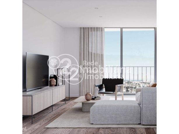 Apartamento T2 DUPLEX em construção em São Bernardo, Aveiro