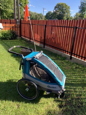 Qeridoo Sportrex 1, przyczepka rowerowa ideał, jak nowa Thule, Croozer