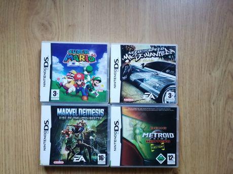 Jogos Nitendo DS- ( Super Mario 64, Marvel, Need for Speed, Metriod)