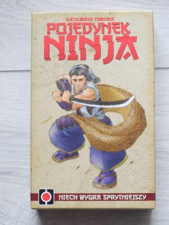 Pojedynek ninja * karciana planszowa dla 2 osób * nowa