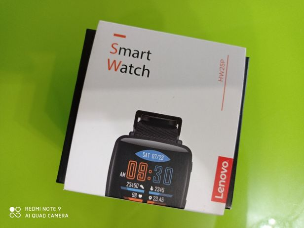 Smart Watch LENOVO HW25P czarny