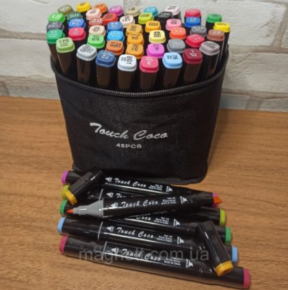 Маркеры для скетчинга Touch Фломастеры 48 цветов Маркер 3D