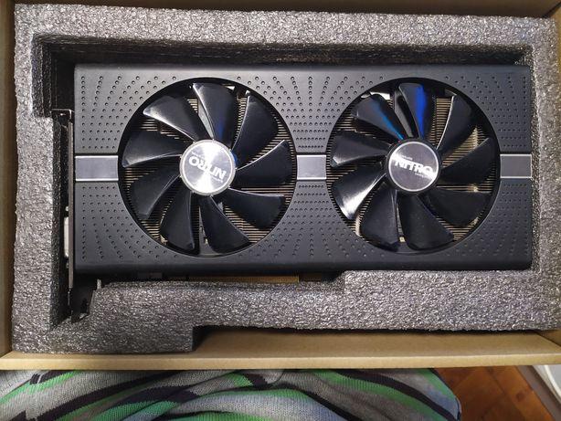 Sapphire RX580 nitro+ 4 gb