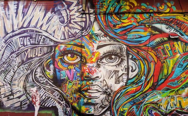Mural Malowanie wnętrz murali Murale Artystyczne Graffiti street art
