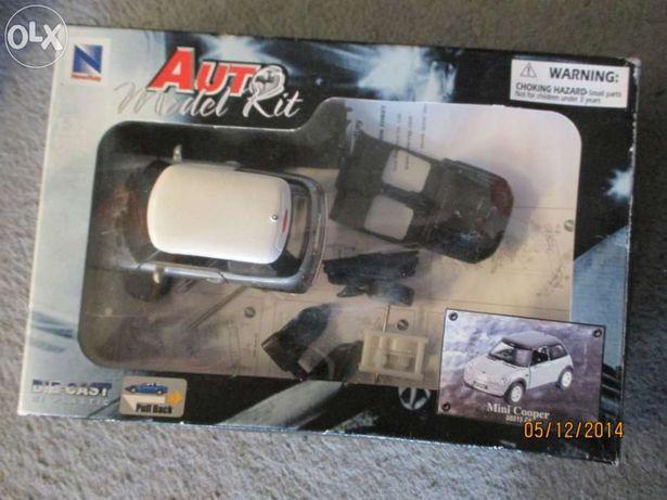 Auto model kit de mini cooper.Kit de montagem