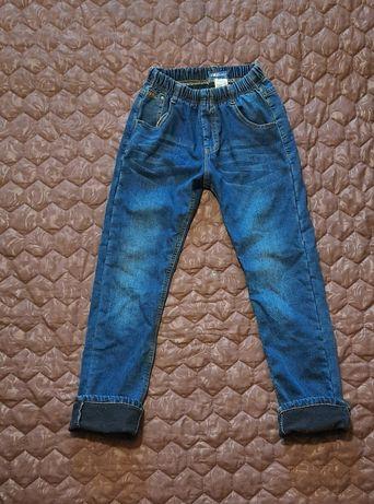 Утеплённые джинсы флис подросток Венгрия 158см