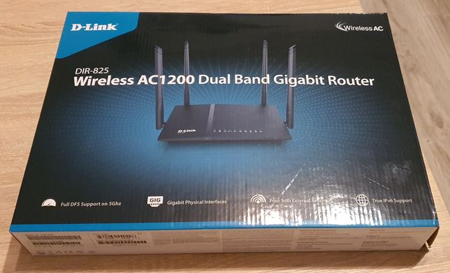 Router WiFi D-Link DIR-825 Wireless AC1200 Dual Band Gigabit Router