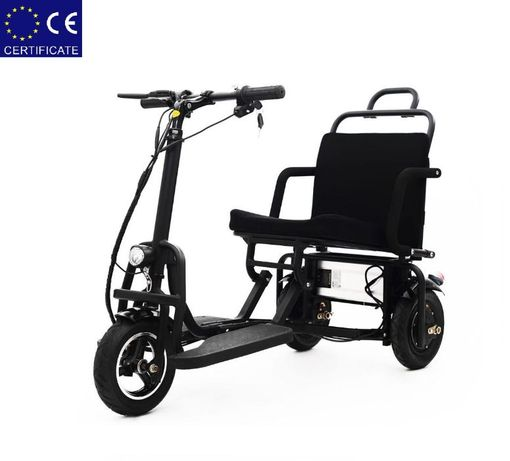 Легкий мобильный складной электроскутер для пожилых людей S-48350