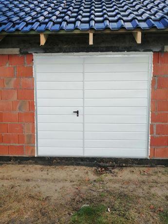 Brama garażowa Drzwi stalowe Bramy garażowe do muru Brama do garażu