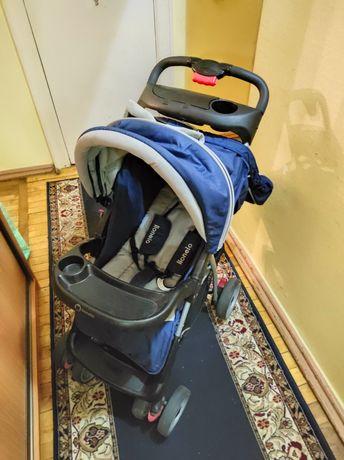 Детская, легкая, компактная, прогулочная коляска LIONELO