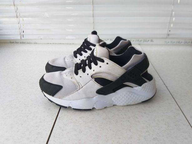 кроссовки Nike Huarache White Black