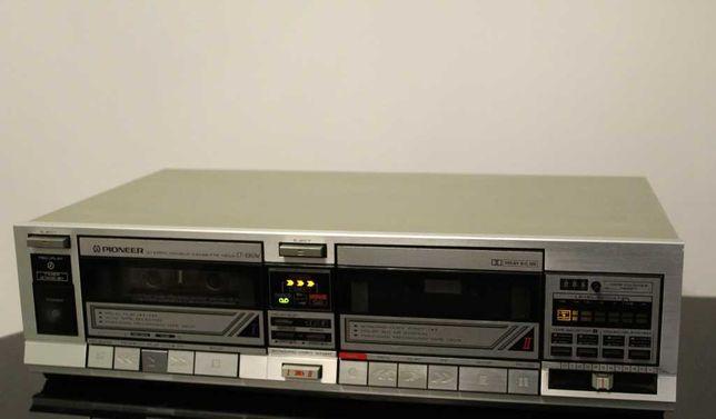 PIONEER CT-1060W Magnetofon deck 2 kasety audiofilski vintage Wysyłka