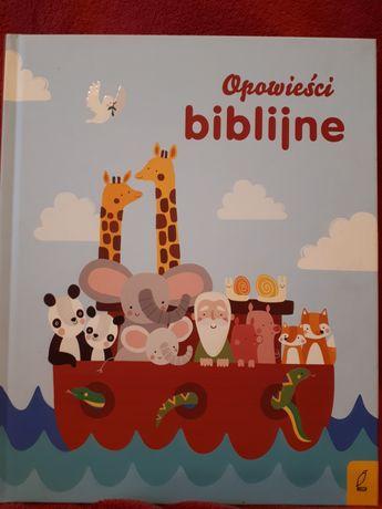 Opowieści biblijne dla dzieci ksiażka.