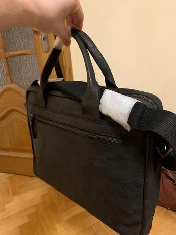 Skórzana torba męska Strellson
