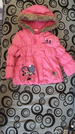 Дитяча куртка на дівчинку 1-1,5 роки