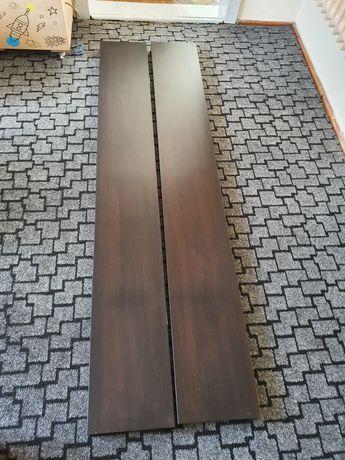 IKEA LACK Półka ścienna, czarnobrąz, 190x26 cm