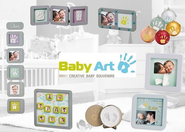 Отпечатки ручки и ножки, фоторамки, шкатулки, Baby Art Беби Арт, Odcis