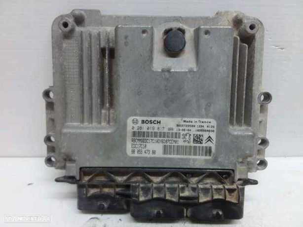 0281019817 Centralina do motor CITROËN BERLINGO MULTISPACE (B9) 1.6 HDi 75 16V