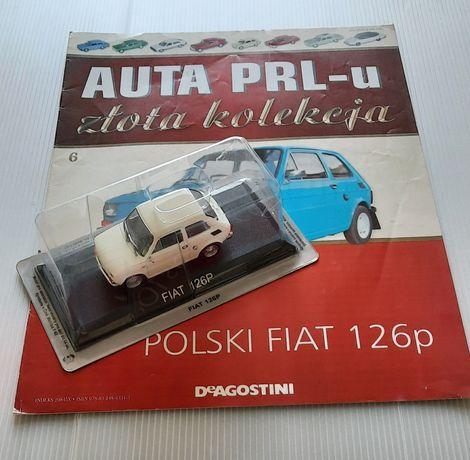 Fiat 126p ze Złotej Kolekcji DeAgostini numer 6