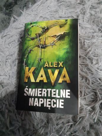 Książka śmiertelne napięcie Alex Kava
