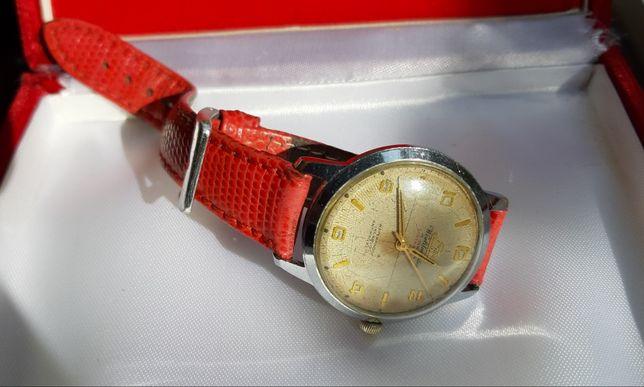 Atlantic super de luxe 17lewels zegarek swiss piękny zabytkowy unikat