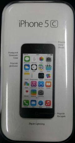 iPhone 5C biały , stan bardzo dobry.
