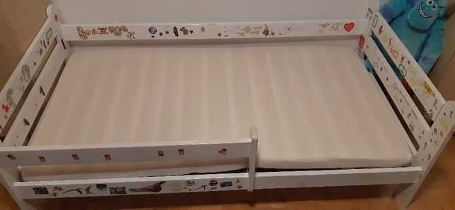 Łóżko dziecięce+materac 80x160 ODDAM