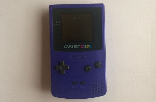 Game boy color roxo