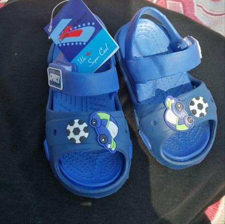 Новые кроксы, сандали