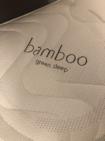 Materac bamboo green sleep 100x200cm