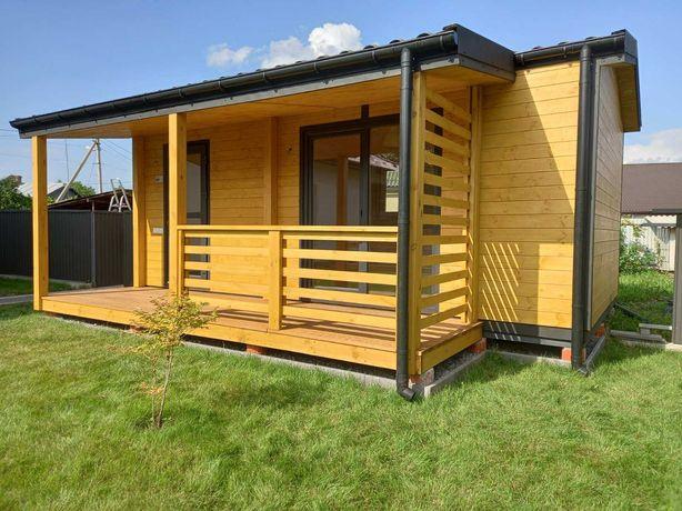 D130 - Міні будинок, будиночок на дачу, літній дерев'яний будинок