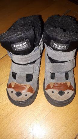 Śniegowce mrugała misie liski r.28 buty zimowe