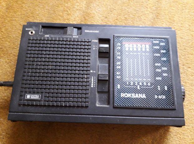 Radio Roksana zabytek dla kolekcjonera