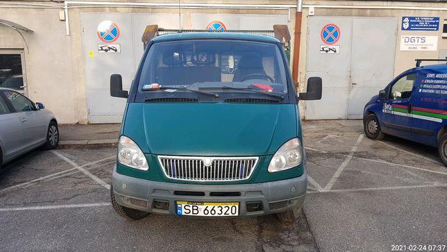 Samochód Cięż. Wyw. GAZ Gazela 4x4 rok 2005 (cena netto) REZERWACJA