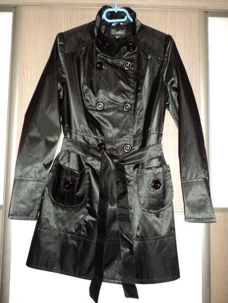 Плащ черный dashel размер 44 - 46 / 36 - 38 / S - M