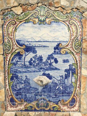 Peças de Cerâmica / Quadros completos de azulejos