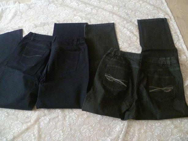 Spodnie damskie 2 szt.zestaw spodni 44 46 XXL