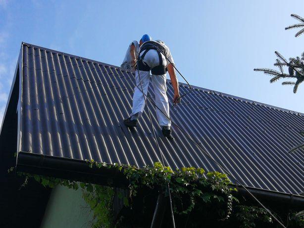Malowanie, Mycie Dachów, Blachodachówki, Dachówek betonowych SPRAWDZ!