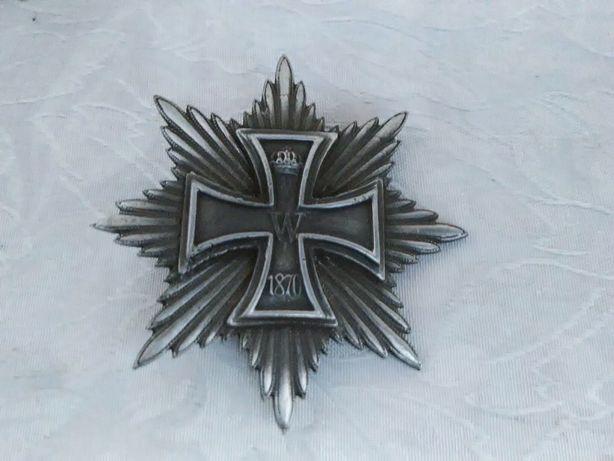 Odznaka 1870 RokStarocie+Gratis StareRóżne MonetyBanknoty Odznaczenia