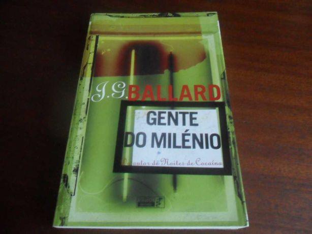 """""""Gente do Milénio"""" de J. G. Ballard - 1ª Edição de 2004"""