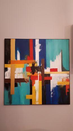 Obraz akrylowy abstrakcja