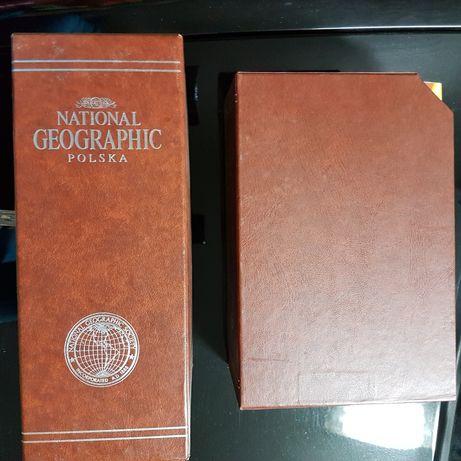 National Geographic dwa pierwsze polskie roczniki w oprawie kolekcjone