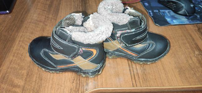 Продам зимние ботиночки на мальчика