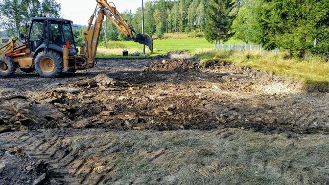 szybkiWYKOP.pl Usługi koparko ładowarką wykopy wyburzenia wywóz ziemii